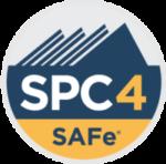 SAFe Program Consultant SPC4 Certification Badge