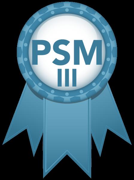 PSM III Zertifizierung