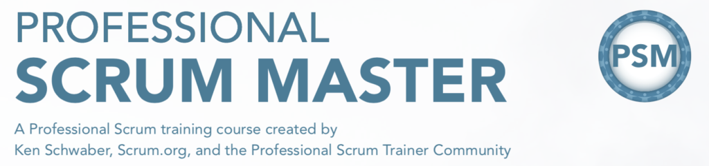 Professional Scrum Master by Scrum.org