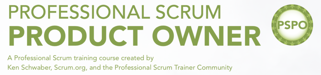 Professional Scrum Product Owner-Training